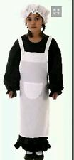 Girls Victorian Poor Peasant Girl/maid Costume Fancy Dress outfit  10-12