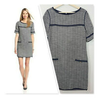 [ MAGASCHONI New York ]  Womens Pencil Tweed Dress   Size AU 12 or small US 10