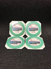 "4-3M Fine Line Mint Green Precision Masking Tape,1/4"" x 60 yards(3M-6525, 06525)"