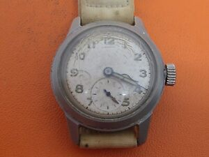 BULOVA WW-2 MILITARY WRISTWATCH ORIGNAL BAND, ORD. CORP. RUNNING!!!