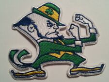 """Notre Dame Fighting Irish~Embroidered PATCH~3 5/8"""" x 2 7/8""""~Iron or Sew On~NCAA"""