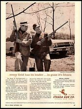 1962 Ithaca Featherlight Model 37 Duxbak Caps Vintage Print Ad