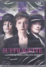 Dvd SUFFRAGETTE with Meryl Streep new 2016