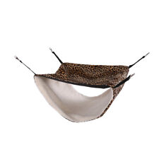 Pet Cat Hammock Leopard Print Bed Animal Hanging Cage  Warm Nest Swing