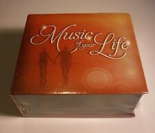 Music of Your Life TIME LIFE 10 CD Box Set 150 Songs! NEW