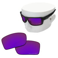 OOWLIT Replacement Sunglasses POLARIZED Lenses for-Oakley Double Edge - Purple