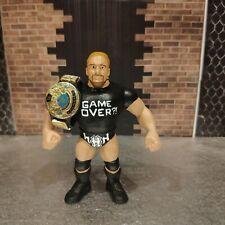 WWE WWF Custom Hasbro HHH Figure with elite belt