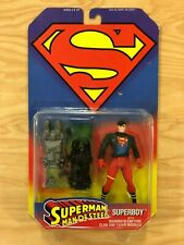 1995 Hasbro Kenner Superman Man of Steel Superboy Action Figure MOSC