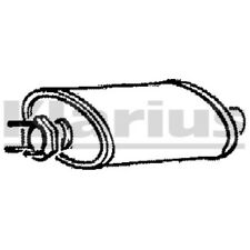 1x KLARIUS OE Quality Replacement Middle Silencer Exhaust For VOLVO Petrol