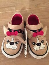 RARE New Authentic CONVERSE Limited Edition  Dog  Sneakers. Infant Size- 4