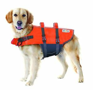 "Outward Hound Ripstop Dog Life Jacket Large for dog 26-35"", 40-70lbs"