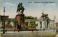 1806: Postkarte Ansichtskarte Berlin Nationaldenkmal Kaiser Wilhelm I. 1928