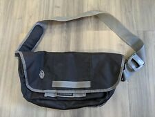 "Timbuk2 Classic Extra Small 7.5""x15.9""x3"" Messenger Bag - Canvas, Black"