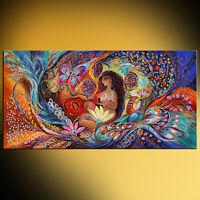 Song of Songs super quality giclee print figurative Jewish art Elena Kotliarker