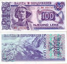 Albania Banknote Paper Money, 100 leke 1994, UNC