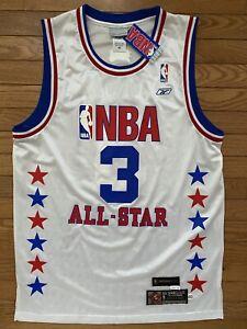 Reebok HWC 1987-88 Jersey 2003 NBA All Star Allen Iverson 76ers Sixers 40 New