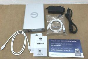 G-Technology 4TB G-DRIVE External Hard Drive Thunderbolt 3 USB 3.1 Gen 1 ✅❤️