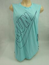 New Womens Medium Nike Dri Fit Mint Tank Top Shirt $45 Last Units 588547-418