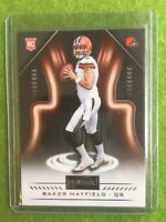 BAKER MAYFIELD ROOKIE CARD JERSEY #6 RC BROWNS 2018 Panini Playbook Rookies #128