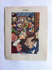 Tourisme SANSTICKETS Dessin illustration HENRI MONIER & POL FERJAC HUMOUR 1942