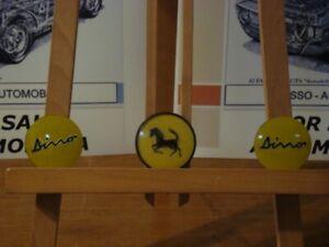 Ferrari Dino badges