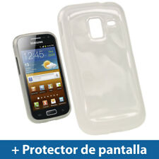 Transparente Case TPU Gel para Samsung Galaxy Ace 2 I8160 Funda Cover Carcasa