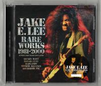 JAKE E.LEE RARE WORKS 1981 - 2000 Rarities Soundboard Silver CD 1 Disc Case