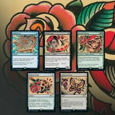 SUMMER SECRET LAIR - FULL SLEEVES: THE TATTOO PACK *CARDS ONLY* MTG MAGIC