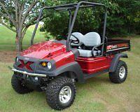 Chrome Bumper Brush Guard Club Car XRT 1550 Carryall 295 Bobcat 2200 HUV 4421