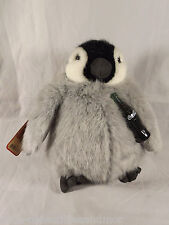 Coca Cola Penguin Boyds Bears Stuffed Animal Tags 919968 Plush Gray Black White