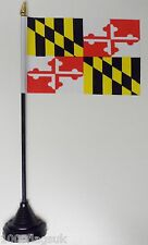 Maryland US State Polyester Table Desk Flag