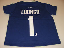2011-12 Vancouver Canucks Roberto Luongo T Shirt Toddler Child M 5/6 Years Rbk
