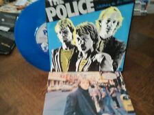 "the police""visions of. (pre unre""single""7""vinyl bleu.or.uk.biem.ps + encart.rare"
