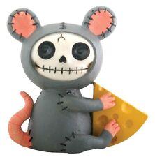 Furrybones Figurine - Muenster The Mouse - New In Box Skeleton Skull In Costume