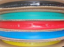 """5' LENGTH HEAT SHRINK TUBING 5/8"""" 16mm 5 COLORS 1 FOOT EACH HST16"""