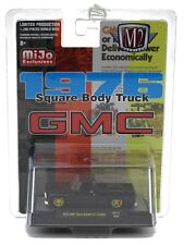 1:64 M2 Machines *MiJo EX* 1976 GMC Square Body Sierra Grande 15 *BLACK* NIP