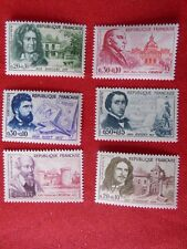 1960-SERIE PERSONNAGES CELEBRES-6 TIMBRES NEUFS