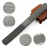 4 in 1 Carbon Steel Rasp File Carpentry Woodworking Wood Carving Hand Tool 200mm