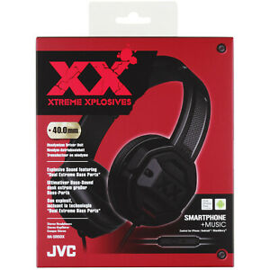 JVC HA-SR50X-E Xtreme Xplosives On-Ear-Kopfhörer Headset Tiefbass