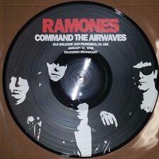 RAMONES - COMMAND THE AIRWAVES 1/31/78 - 180 GRAM PICTURE DISC VINYL LP, IMPORT