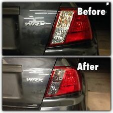08-11 WRX STi  SMOKEOUT Tail lights SMOKED TINT Overlays