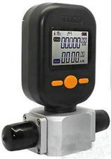 Digital Gas Mass Flow Meter 0-200L/Min Protable Gas Air Flow Rate Tester