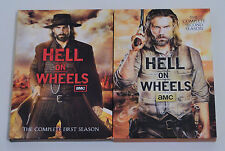 AMC's Hell On Wheels The Complete First and Second Seasons on DVD