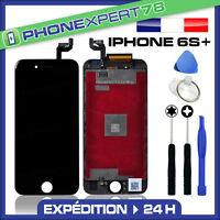 VITRE TACTILE + ECRAN LCD RETINA SUR CHASSIS POUR IPHONE 6S PLUS NOIR + OUTILS