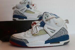 Nike Air Jordan Spizike True Blue White Varsity Size 12 315371-163