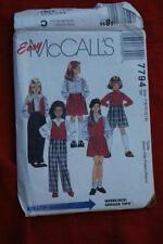 McCall 's Female Child's Mixed Lot Sewing Patterns