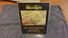 Steve Howe Autographed Tour Book Program Not Necessarily Acoustic Evening 1993