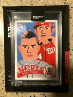 TOPPS PROJECT 2020 BASEBALL CARD #260 MIKE TROUT 2011 UPDATE #US175 KEITH SHORE