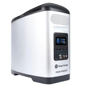 Range Storage Portable Power Station 1600W Output AC 240V & DC & USB Home Backup