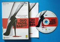DVD Film Ita Thriller QUO VADIS BABY? angela baraldi ex nolo no vhs lp cd mc(D2)